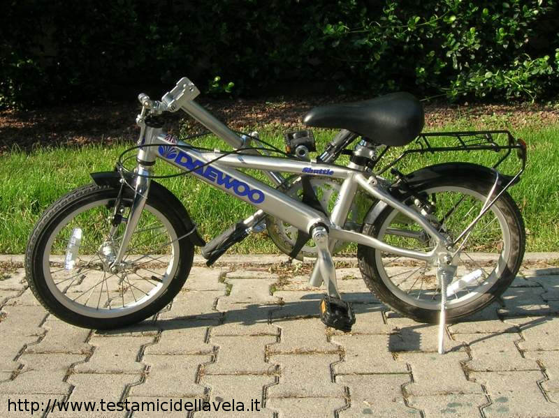 Bridgestone Picnica Belt Drive 1980s Folding Bicycle Bootiebike