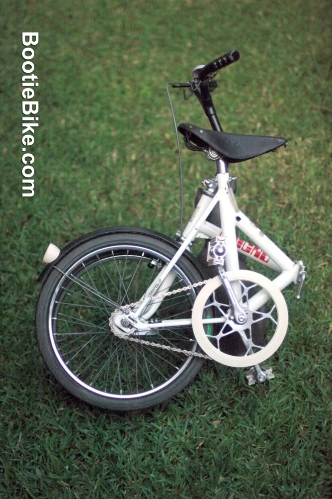 Bootiebike – 1970s Micro portable bicycle – Last updated: 31/1/16